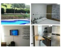 Apartamentos amoblados en el poblado - medellin  cod: 6087