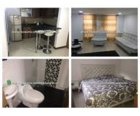 Apartamento amoblado para rentar en belo sector valerias cod: 9329