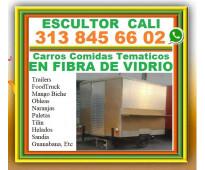 ⭐ fabrica, trailers, foodtruck, carros comidas tematicos, mango biche, obleas, n...