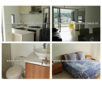 Apartamento amoblado para rentar en envigado sector loma de las brujas cod: 9099