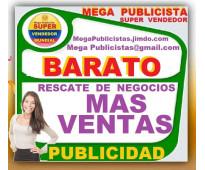 ⭐ barato, mega publicidad, agencia, publicista, posicionamiento, mercadeo, marke...