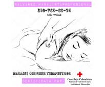 Servicio de masajes  terapeuticos con sede y domicilios