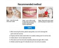 Removedor de placa y blanqueador dental instantaneo marca lanbena
