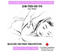 Servicio de masajes relajantes y terapeuticos en cali