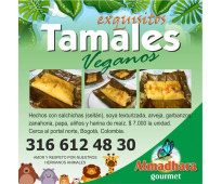 Exquisitos tamales veganos