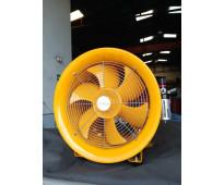 Ventilador neumático de 16, 20 y 24in