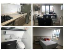 Apartamento amoblado en renta - el poblado cod: 14770