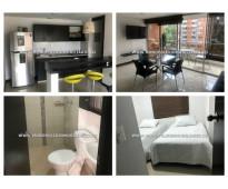 Apartamento amoblado en alquiler - sabaneta cod: 14688