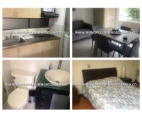 Apartamento amoblado en alquiler  - la paz envigado cod: 11909