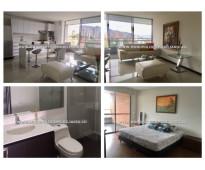 Apartamento amoblado en renta - el poblado las lomas cod: 11811