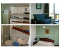 Apartamento amoblado en renta - el poblado loma de san julian cod: 11678