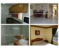 Apartamento amoblado en renta - el poblado patio bonito cod: 11676