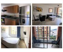 Apartamento amoblado en renta - el poblado cod: 11657