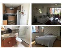 Apartamento amoblado en renta - el poblado el tesoro cod: 11543