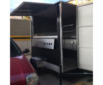 Vendo trailer de comida rápida, sólo 3 meses de uso por no poder atenderlo