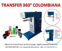 Transfer giro 360° colombiana