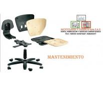 Mantenimiento, venta de sillas de oficinas