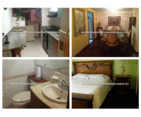 Apartamento amoblado en alquiler - el poblado patio bonito cod: 9614