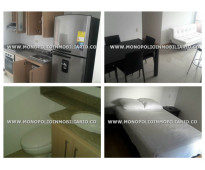 Apartamento amoblado en renta - el poblado loma del indio cod: 9616