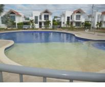 Casa  con piscina para estrenar en condominio san gabriel