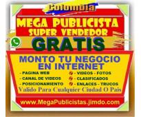 ⭐ gratis, mega publicidad, agencia, publicista, posicionamiento, vendedor, merca...