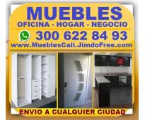 ⭐ muebles cali, divisiones oficina, recepciones, mostradores, escritorios, call...