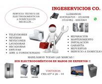 Servicio técnico de electrodomesticos a domicilio en medellín..