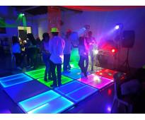 Minitecas pistas de baile salas lounge medellin