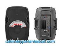Cabina bluetooth playpro pl3600x de 15 pulgadas con 500 vatios en cali