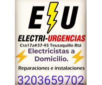 Electricista,el chico, country ,usaquen,santa ana,modelia,salitre,villa luz, zon