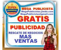 ⭐ gratis, mega publicista, agencia publicidad, posicionamiento, mercadeo, market...