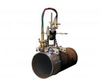 Biseladora manual para tubería de gran díametro cg1-11s, llama de oxicorte