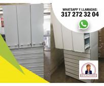 Muebles, equipo para farmacias