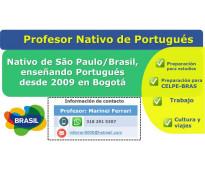 Profesor nativo de portugués