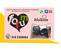 Equipo para gastronomia wolkinn