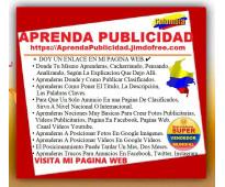 ⭐ aprenda publicidad, curso de mercadeo, marketing digital, on line, por interne...