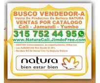 ⭐ busco vendedor, vendedora, para venta de productos de belleza natura, ventas p...