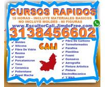 ⭐ cursos todo colombia, clases, moldes, silicona, fibra de vidrio, resina, icopo...