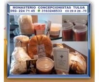 ⭐ manjar blanco, jalea de guayaba, mermelada, fruta deshidratada, hostias, recor...