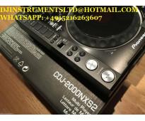 Venta pioneer dj 2x pioneer cdj-2000nxs2 y djm-900nxs2 y pioneer hdj-x10-k