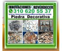 ⭐ piedra decorativa, para jardines, jardín, fachadas, decoracion, medellin, bell...