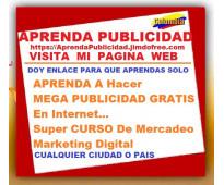⭐ aprenda a hacer mega publicidad gratis en internet, super curso de mercadeo, m...