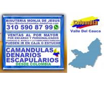 ⭐ bisuteria monja de jesus, camandulas, rosarios, denarios, cali, palmira, buena...