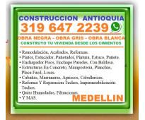 ⭐ medellin, mega maestro de obra, albañil, oficial construccion, enchape pisos,...