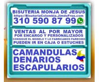 ⭐ bisuteria monja de jesus, camandulas, rosarios, denarios, cali, palmira, bogot