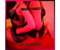 Agosto de ricos y sensuales masajes duales