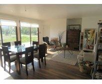 En la cruz dueña vende directo parcela 6600 m2 con casa nueva $ 120 millones
