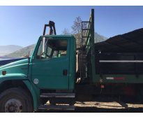 Camion plano 10 toneladas