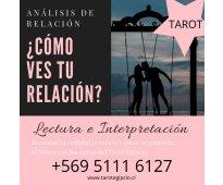 Lectura de tarot análisis de relación de pareja