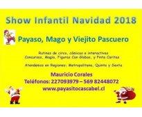 Animación show infantil navidad 2018